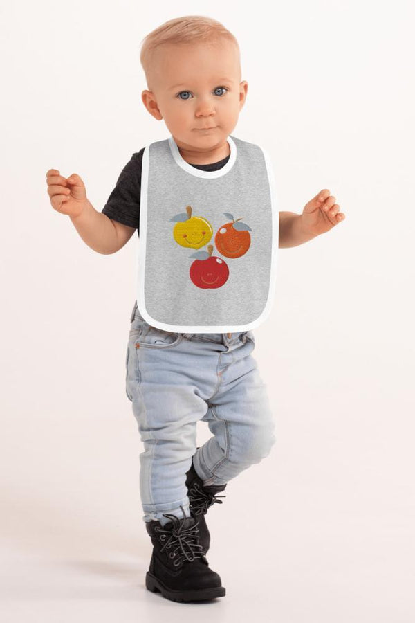 Baby Fruits Bib - NM BRANDED - NIGEL MARK