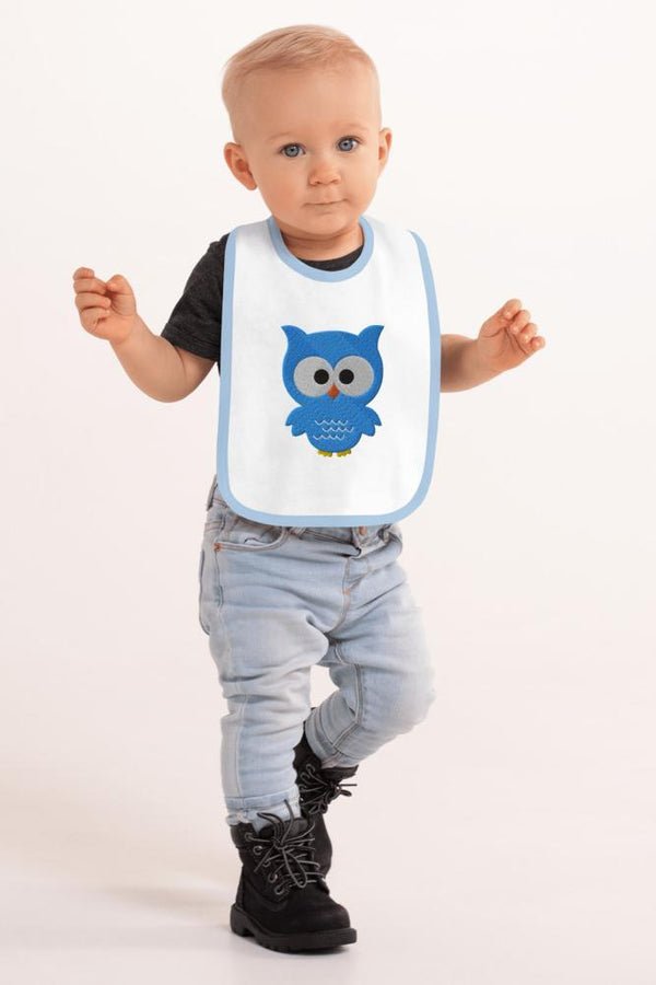 Baby Owl Bib - NM BRANDED - NIGEL MARK