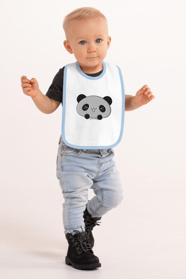 Baby Panda Bib - NM BRANDED - NIGEL MARK