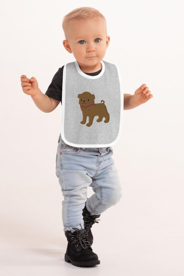 Baby Pug Bib - NM BRANDED - NIGEL MARK