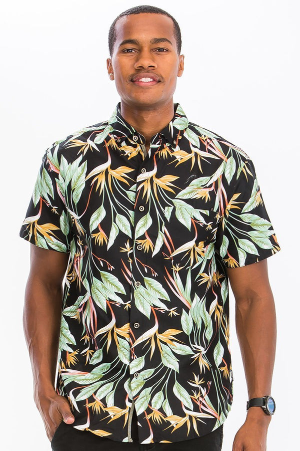 Bahama Button Down Shirt - MEN TOPS - NIGEL MARK