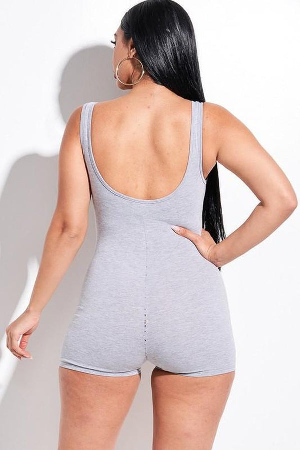 Basic Romper - JUMPSUITS & ROMPERS - NIGEL MARK