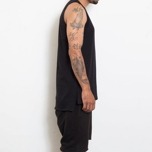 Basic Tank - Black - Tank Tops - NIGEL MARK
