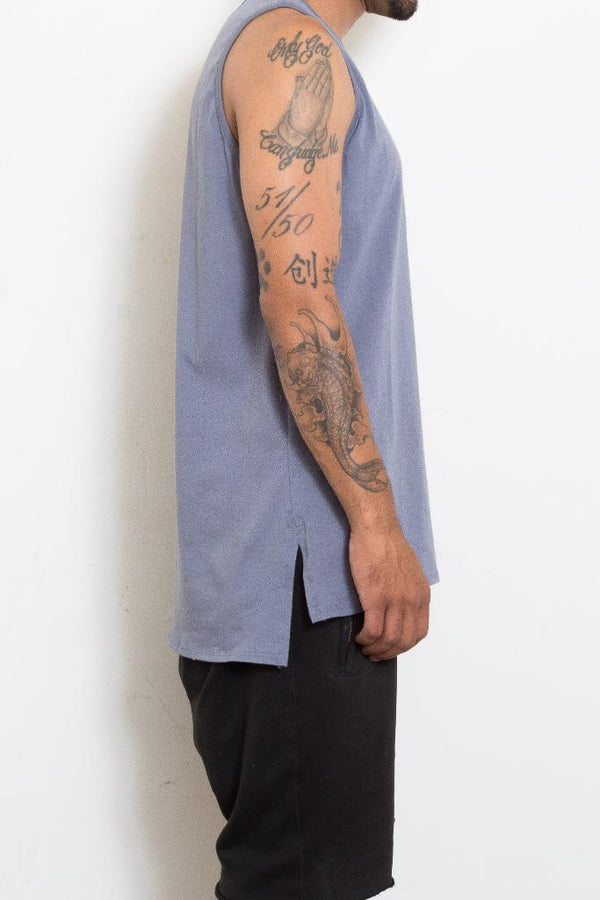 Basic Tank - Gray - Tank Tops - NIGEL MARK