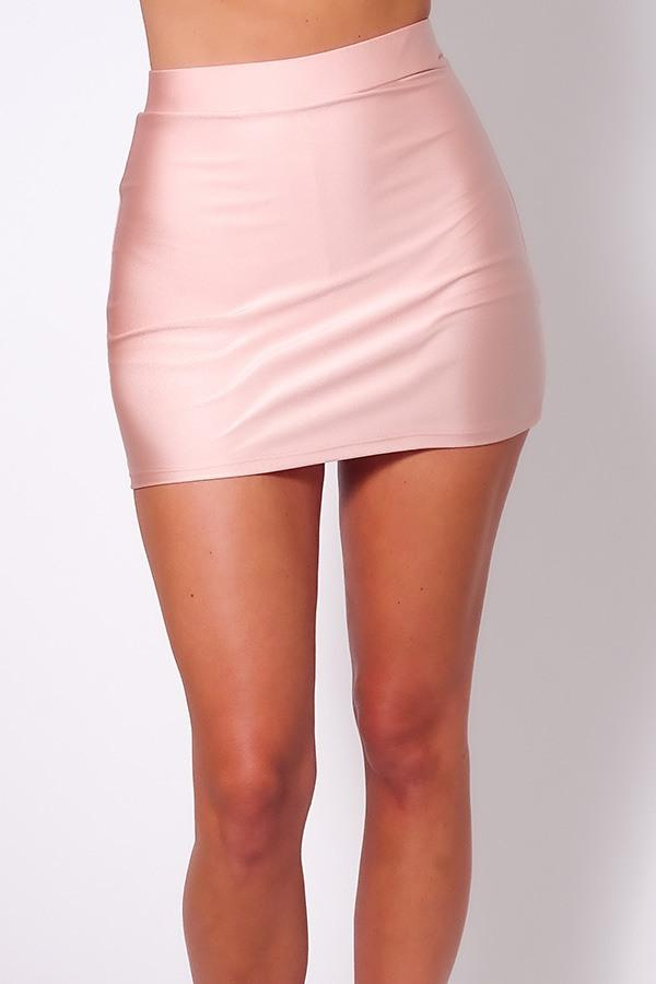 Basic Tennis Skort - Blush - WOMEN BOTTOMS - NIGEL MARK