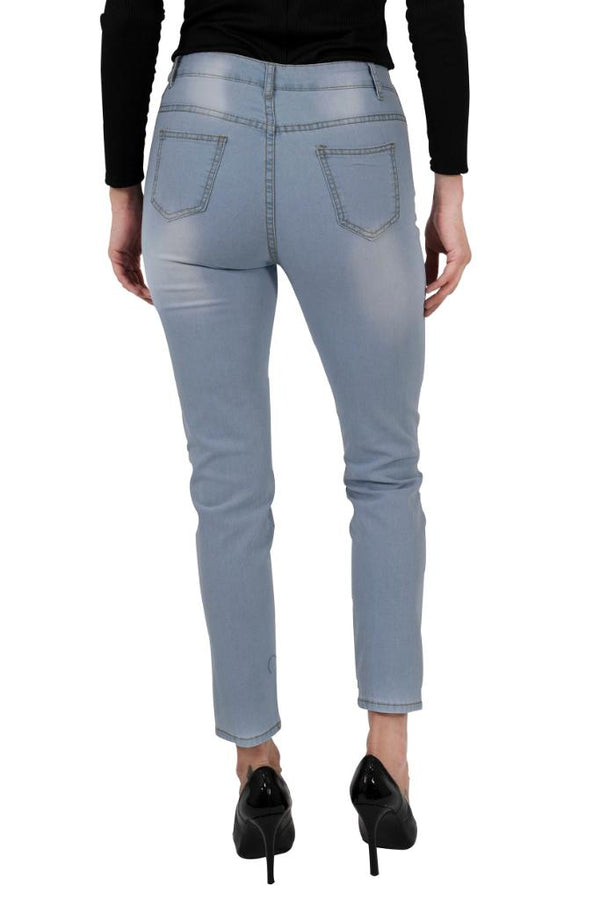 Benedict Skinny Jeans - WOMEN BOTTOMS - NIGEL MARK