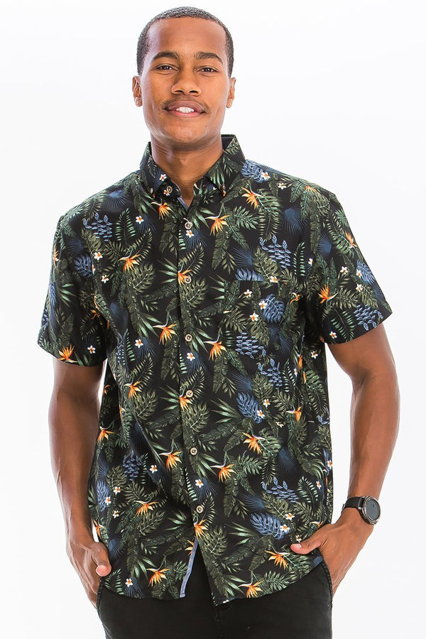 Bird Of Prey Button Down - MEN TOPS - NIGEL MARK
