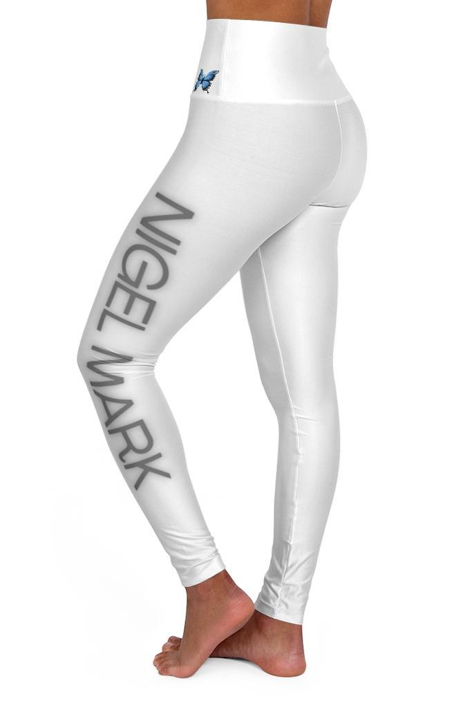 Black And White Neon Leggings - NM BRANDED - NIGEL MARK