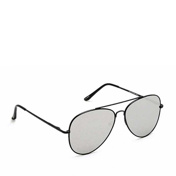 Black Framed Aviator Sunglasses - ACCESSORIES - NIGEL MARK
