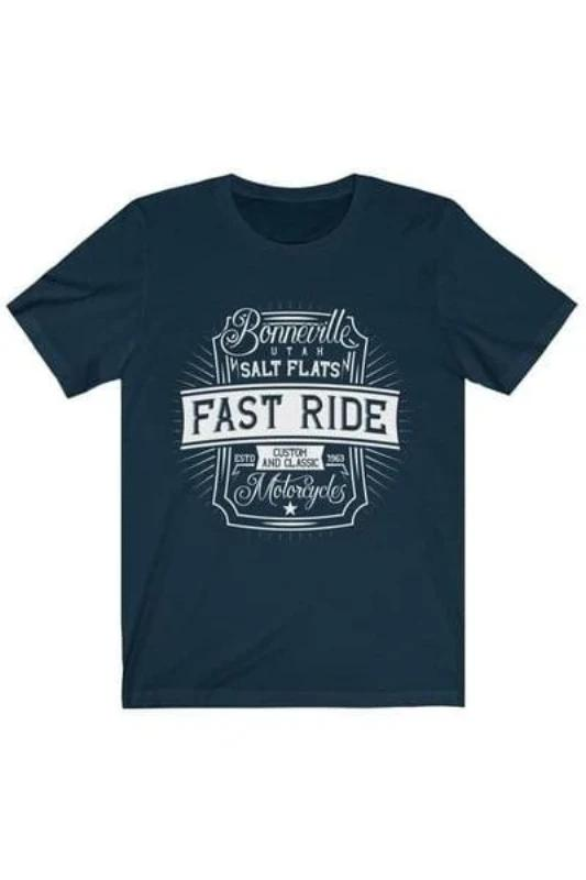 Bonneville Fast Ride Motocycles - MEN TOPS - NIGEL MARK