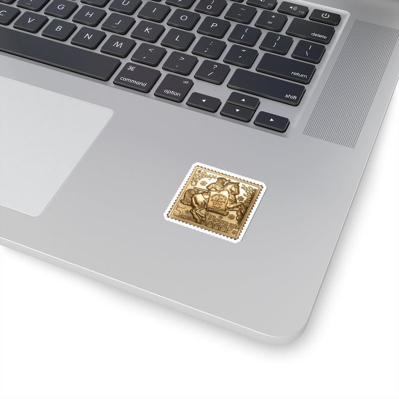 Bronze Postage Stickers - Paper products - NIGEL MARK