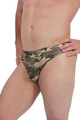 Camo Men's Bikini - MEN SHORTS - NIGEL MARK