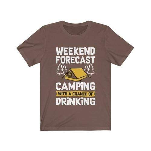 Camping with a Chance of Drinking - MEN TOPS - NIGEL MARK