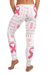 Cancer Awareness Leggings - BOTTOMS - NIGEL MARK