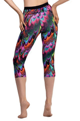Capri Leggings Activewear - BOTTOMS - NIGEL MARK