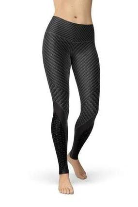 Carbon Fiber Sports Leggings - BOTTOMS - NIGEL MARK
