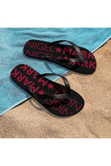 Cardinal Red NM Unisex Flip-Flops - NM BRANDED - NIGEL MARK