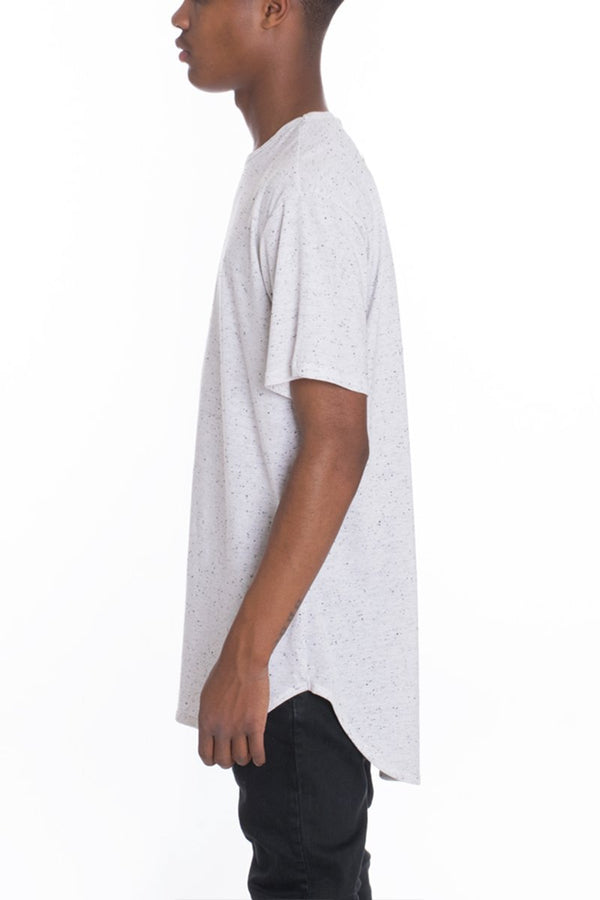 Classic Scallop Tee - Oreo - T-shirts - NIGEL MARK