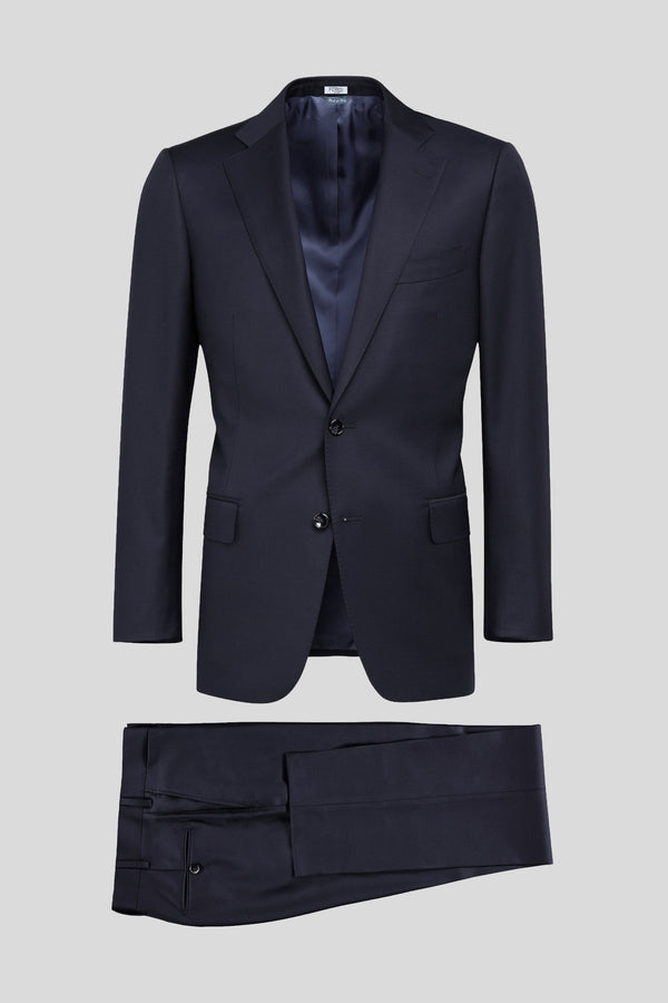 Classic Twill Blu - MEN SUITS & BLAZERS - NIGEL MARK