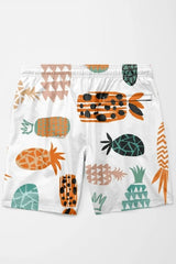 Crazy Pineapples Shorts - MEN SHORTS - NIGEL MARK