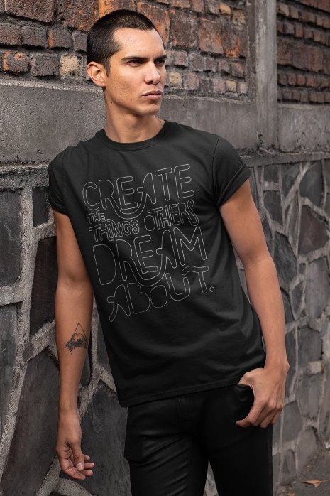 Create Dreams T-Shirt - T-shirts - NIGEL MARK