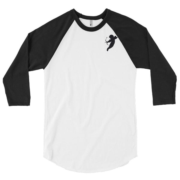 Cupid's Revenge 3/4 Sleeve Raglan Shirt - NIGEL MARK