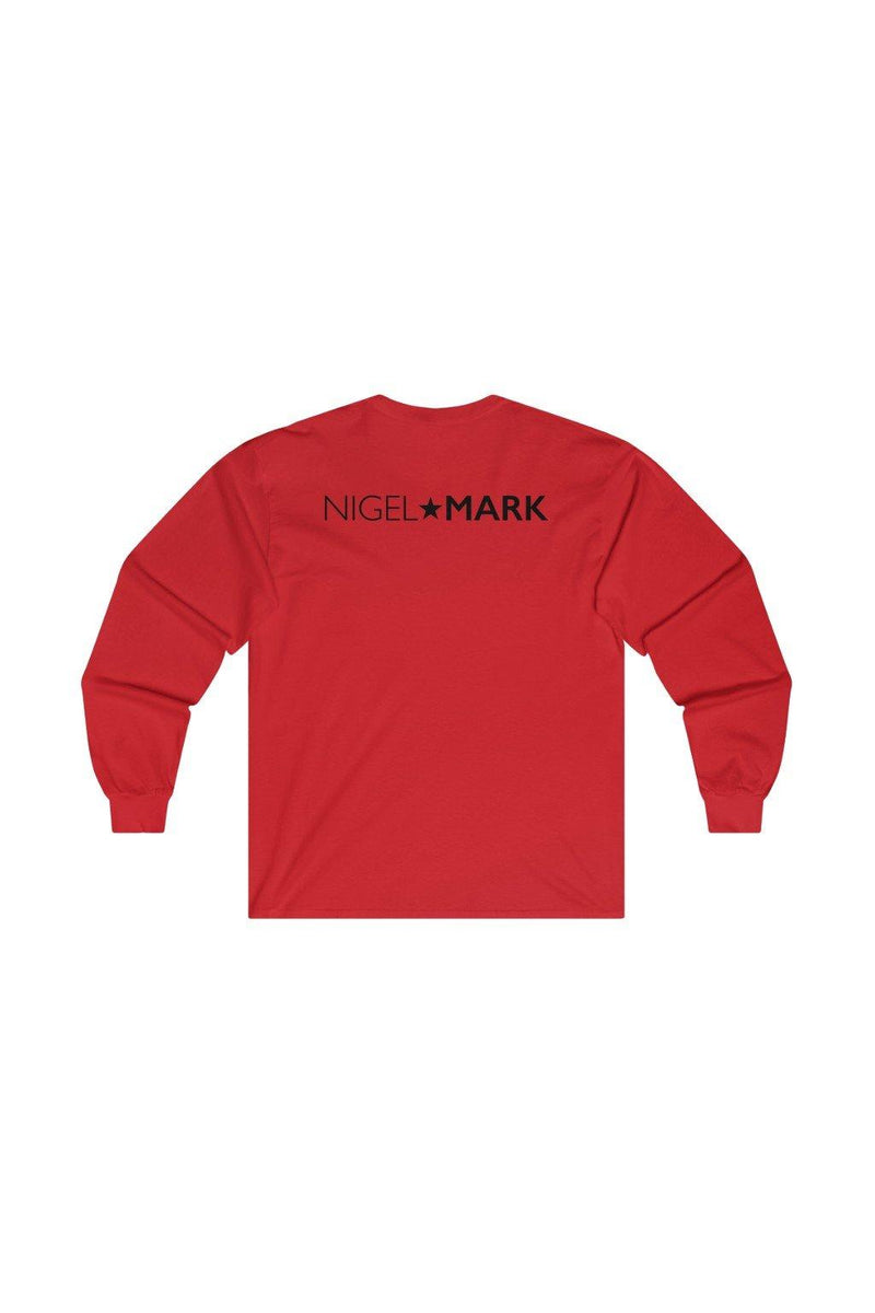 Dallas NM Red Long Sleeve Tee - NM BRANDED - NIGEL MARK
