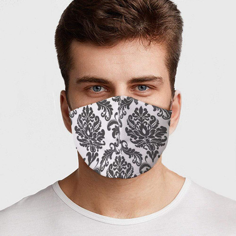Damask Face Cover - BEAUTY & WELLNESS - NIGEL MARK