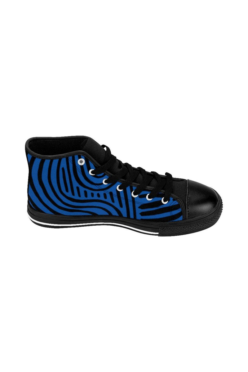 Dark Blue NM Men's High-top Sneakers - NM BRANDED - NIGEL MARK