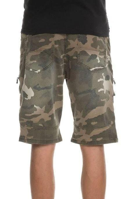 Distressed Tactical Biker Shorts - MEN SHORTS - NIGEL MARK