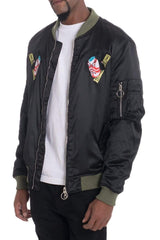 Dogtown Bomber- Olive - JACKETS & COATS - NIGEL MARK