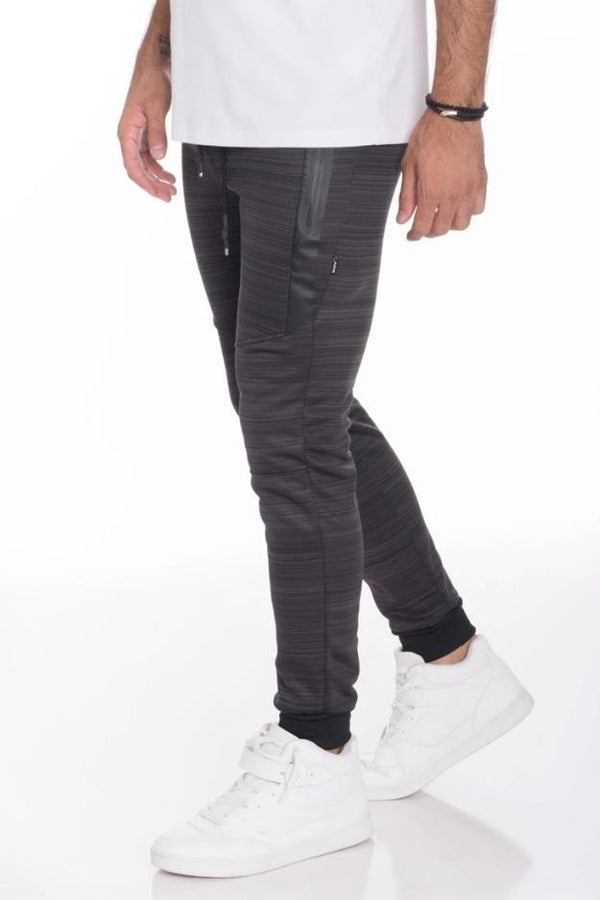 Essential Marble Jogger - Charcoal - MEN BOTTOMS - NIGEL MARK