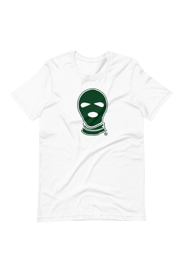 Evergreen Ski Mask Logo T-Shirt - Men's Clothing - NIGEL MARK