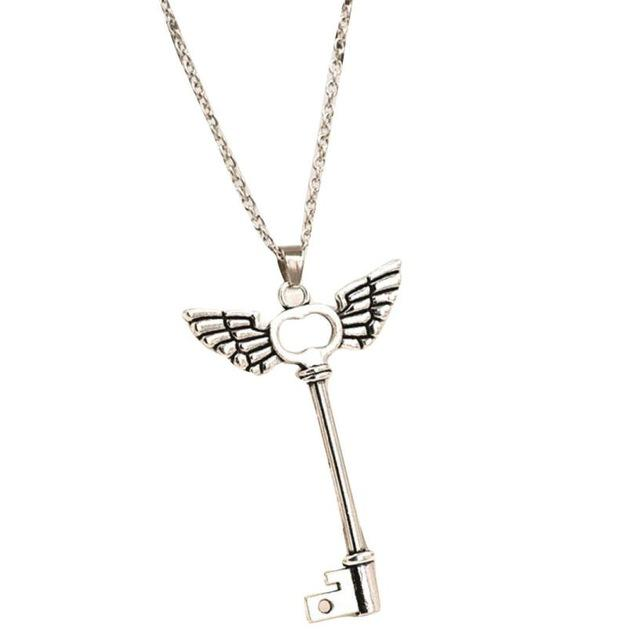 Flawless Angel Wings Key Necklace - ACCESSORIES - NIGEL MARK