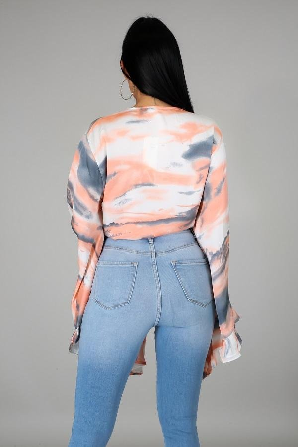Flowy Crop Top - WOMEN TOPS - NIGEL MARK