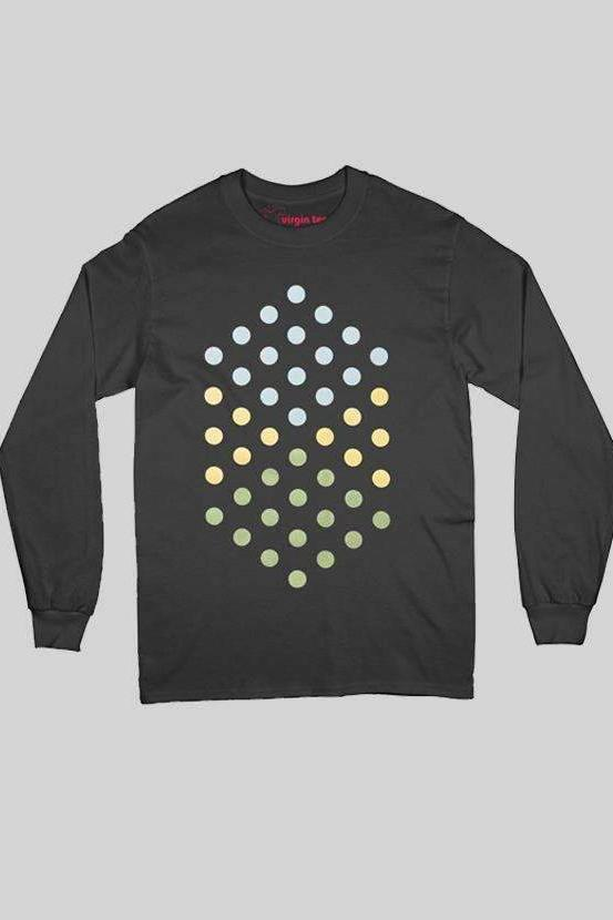 Focus Black Long Sleeves T-Shirt - T-shirts - NIGEL MARK