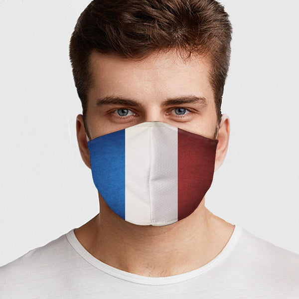 French Flag Face Cover - BEAUTY & WELLNESS - NIGEL MARK