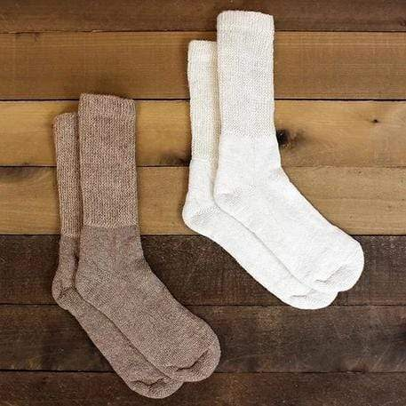 Gentle Touch Therapeutic Alpaca Socks - MEN ACCESSORIES - NIGEL MARK
