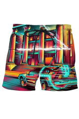 Glowing City Shorts - MEN SHORTS - NIGEL MARK