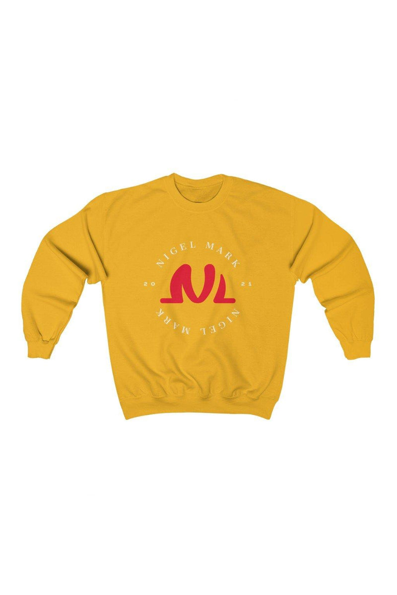Gold NM Circle Sweatshirt - NM BRANDED - NIGEL MARK