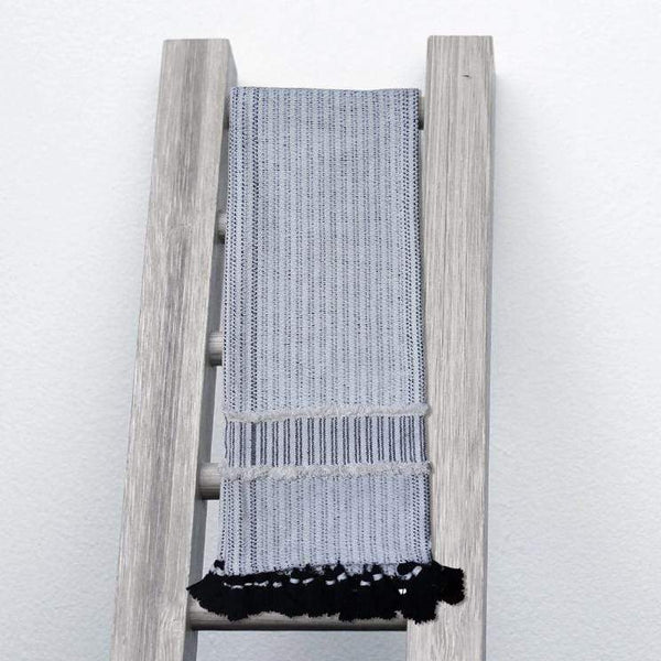 Hand Loom Textured Throw Blanket - BEDROOM - NIGEL MARK