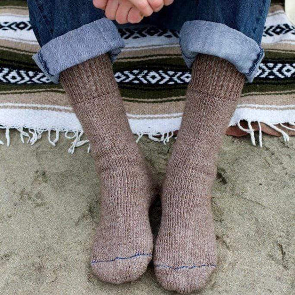 Heavy Extreme Alpaca Socks - MEN ACCESSORIES - NIGEL MARK