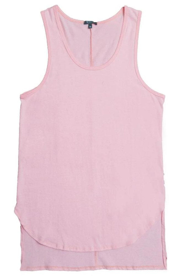 HI Low Tank - Peach - Tank Tops - NIGEL MARK
