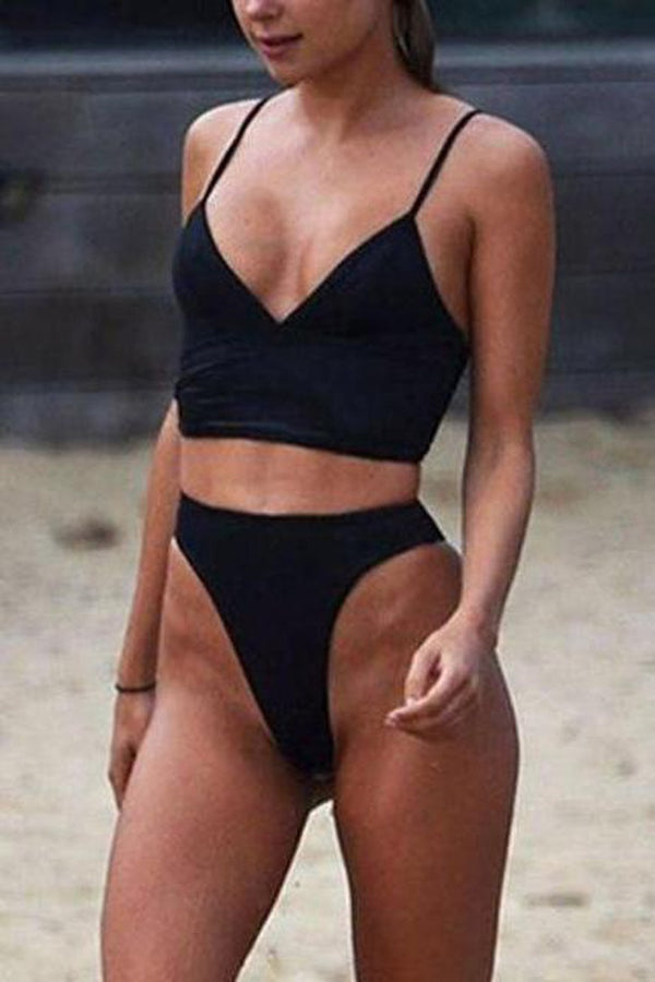 High Waist Bikini Set - WOMEN SWIMWEAR - NIGEL MARK