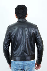 Jackherald Men Premium Kamzo Leather Jacket - MEN JACKETS & COATS - NIGEL MARK