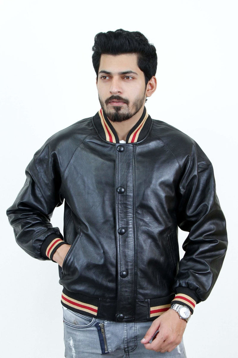 Jackherald Men Prime Leather Jacket - MEN JACKETS & COATS - NIGEL MARK