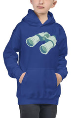 Kids Binoculars Hoodie - NM BRANDED - NIGEL MARK