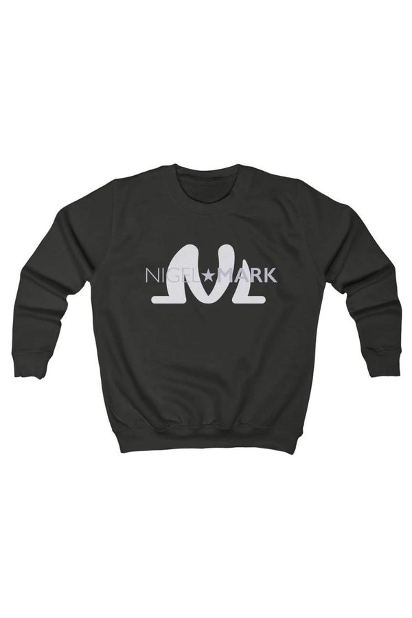 black and white kids sweatshirt