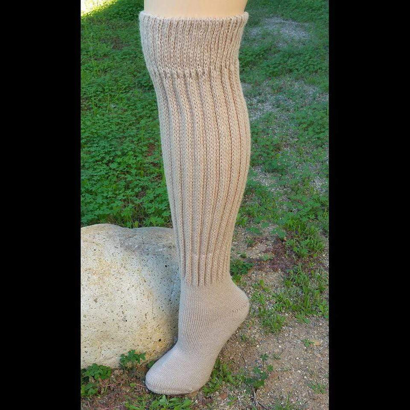 Knee-Hi Alpaca Socks - MEN ACCESSORIES - NIGEL MARK
