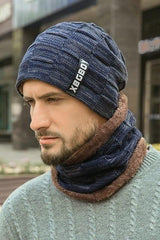 Knitted Wool Hat - MEN ACCESSORIES - NIGEL MARK